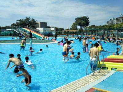Mizonuma criança piscina